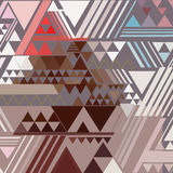 Triangle geometric abstract background Stock Photo