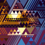 Triangle geometric abstract background Royalty Free Stock Photos