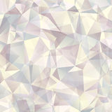Triangle geometric neutral background Royalty Free Stock Photos