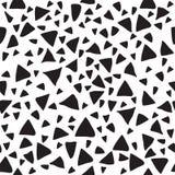 Triangle geometric seamless pattern Stock Image