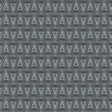Triangle geometric texture. Vector seamless background Stock Images