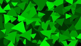 Triangle - geometric vector background stock video