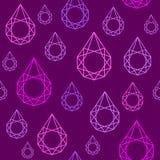 Triangle geometrical water drop pattern Stock Photo