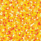 Triangle golden giltter piece seamless pattern Royalty Free Stock Photos