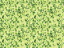 Triangle green background. Triangle green background flat color stock illustration
