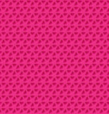 Triangle holes Pattern. Vector illustration Stock Image