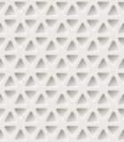 Triangle holes Pattern. Vector illustration Stock Images