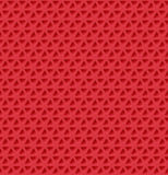 Triangle holes Pattern. Vector illustration Stock Photography
