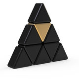 Triangle icon Stock Photos