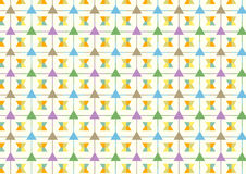 Triangle and Line and Trapezoid Pattern on Pastel Background Royalty Free Stock Photo