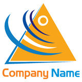 Triangle logo Stock Photos