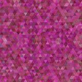 Continuous triangle low poly pattern - vibrant blue, pink, violet and purple color. Triangle low poly pattern - vibrant blue, pink, violet and purple color royalty free stock photography
