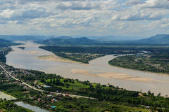 Triangle mekong river Royalty Free Stock Photo