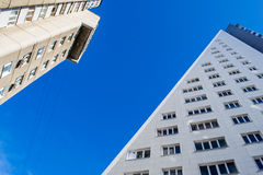 Triangle Modern Building Stock Photography