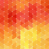 Triangle mosaic background. Stock Photo