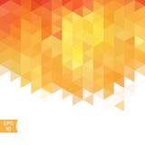 Triangle mosaic background. Royalty Free Stock Photos