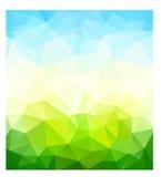 Triangle nature background. Vector illustration vector illustration