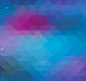 Triangle neon seamless background Stock Photos