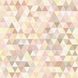 Triangle neutral abstract background Royalty Free Stock Photography