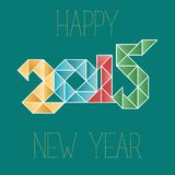 Triangle Number 2015 Stock Photography