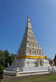 Triangle Pagoda. At Wat (Temple) Chedi Liam at Wiang Kum Kam, Chiangmai Thailand Royalty Free Stock Photography