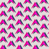 Triangle pattern. Including seamless sample in swatch panel Royalty Free Stock Image