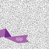 Triangle_pattern Stock Image