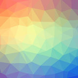 Triangle pattern background Stock Photography