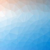 Triangle pattern background Stock Images