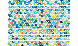 Triangle pattern. For background graphic Stock Photo