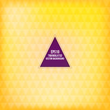 Triangle pattern background Royalty Free Stock Photography