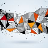 Triangle pattern background. Royalty Free Stock Image