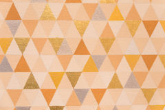 Triangle pattern, Geometric abstract texture. Background Stock Images
