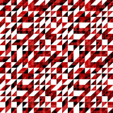 Triangle pattern. Including seamless sample in swatch panel Royalty Free Stock Images