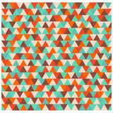 Triangle pattern, polygon colorful seamless background. Triangle pattern polygon colorful background Royalty Free Stock Photos