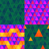 Triangle pattern Stock Photo