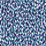 Triangle pattern. Seamless vector. Background with amethyst, blue, green, lavender, purple, teal, white triangles Royalty Free Stock Photos