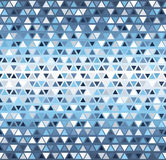 Triangle pattern. Seamless vector Stock Images