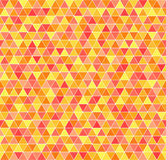 Triangle Pattern. Seamless Vector Geometric Background Royalty Free Stock Images