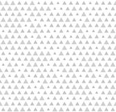 Triangle pattern. Seamless vector geometric background. With gray triangles of different size on white backdrop royalty free illustration
