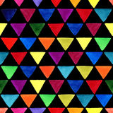 Triangle pattern. Royalty Free Stock Image