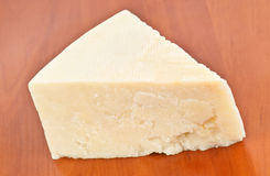 Triangle of pecorino Stock Images