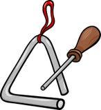 Triangle percussion clip art cartoon illustration. Cartoon Illustration of Triangle Percussion Musical Instrument Clip Art Stock Photo
