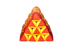 Triangle Pillow. Royalty Free Stock Images