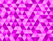 Triangle pink Background Pattern. Triangle Background vector with pink triangles royalty free illustration