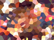 Triangle pixelation effect filter abstract background Stock Photography