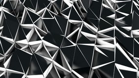 Triangle polygon stock footage