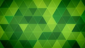 Triangle Polygon Loop 12 Emerald. Seamless looping background of triangles stock video