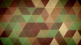 Triangle Polygon Loop 11 Forest. Seamless looping background of triangles stock video footage