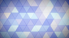 Triangle Polygon Loop 09 Lavender. Seamless looping background of triangles stock video footage